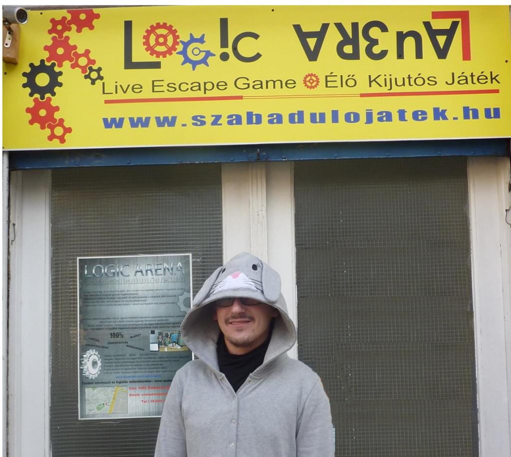 Logic Arena szabadulós játék budapest