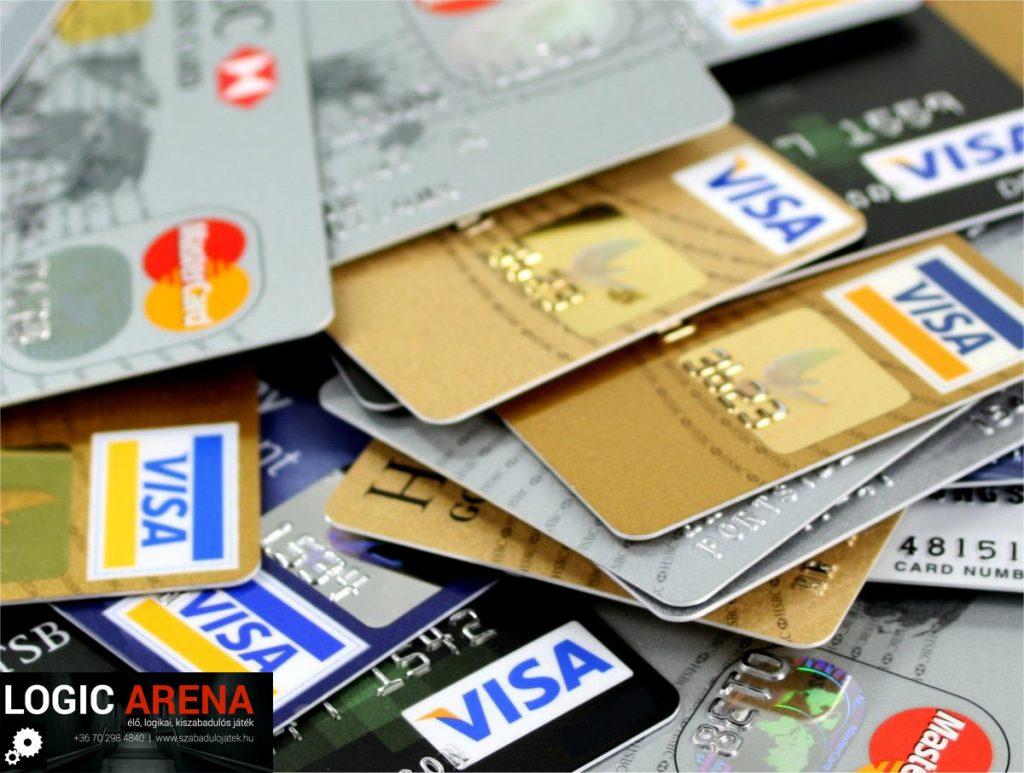 bankkártyás fizetés szabadulószobában Logic Arena családbarát szabadulószoba