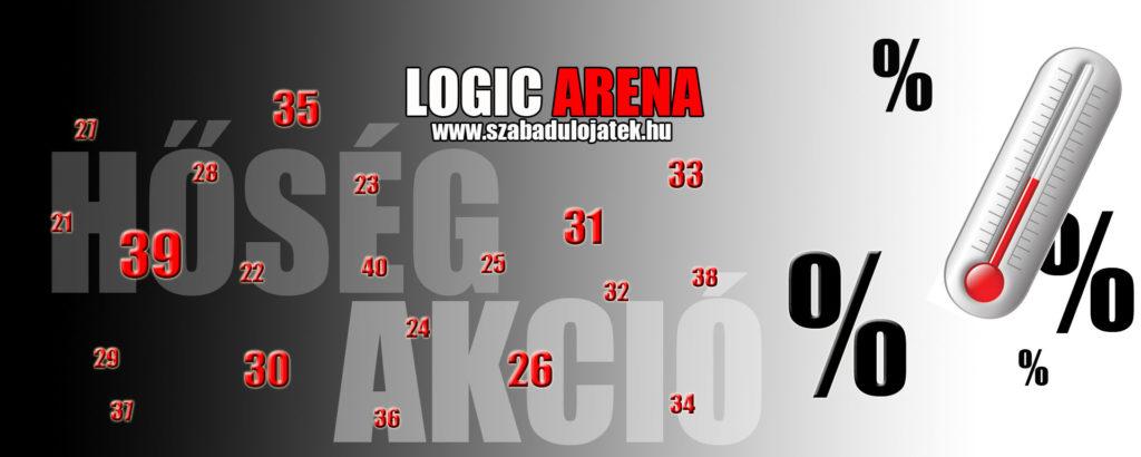 Nyári program Budapesten - Hőség akció a Logic Arenaban
